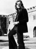 David Coverdale of Pop Group Deep Purple in the Grounds of Clearwell Castle