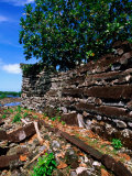 Exterior Walls (1100-1400 AD)  Nan Douwas  Nan Madol  Micronesia