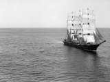 The Windjammer Olive Bank in the English Channel  1935