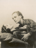 Sir John Gielgud with Adele Dixon in the Final Scene of Romeo and Juliet