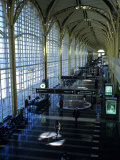 People Walk Through the Terminal of Washington's National Airport
