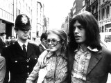 Mick Jagger Singer and Marianne Faithfull  May 1969