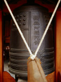 Temple Bell with Striker  Kyoto  Japan