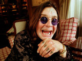 Rock Star Ozzy Osbourne at Home for Matthew Wright Interview  1998