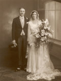 The Happy Pair: an Unidentified Couple from Stafford England