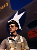FW Hunter  World War II Army Test Pilot  circa 1942