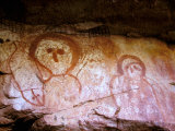 Wandjina Figures  Raft Point  The Kimberly  Australia