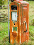 Old Petrol Pump  Taoroa Junction  Rangitikei  North Island  New Zealand