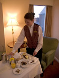 Room Service Breakfast at a Hotel
