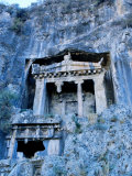 Lycian Rock Tombs  Amyntas Park  Fethiye  Turkey