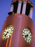Detail of the Town Clock on Gladstone Rd  Gisborne  New Zealand
