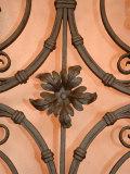 Wrought-Iron Gate Detail  Lake Orta  Orta  Italy