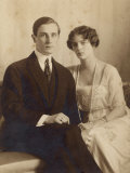 Prince Felix Youssoupoff Russian Aristocrat with His Wife Irina in 1910