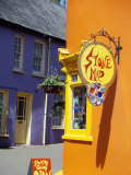 Colorful Building  Kinsale  County Cork  Ireland