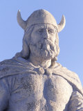 Statue of Viking  Gimli Manitoba