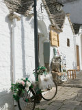 Souvenir Shop Bicycle  UNESCO World Heritage Site  Terra dei Trulli  Alberobello  Puglia  Italy