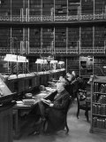 Readers in the Reading Room Have Access to One of the Largest Collections of Books in the World