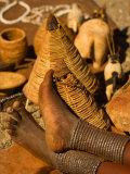 Body Jewelry of the Himba Tribe  Skeleton Coast  Namibia