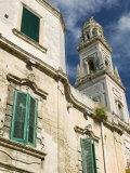 Duomo Campanile  Piazza del Duomo  Lecce  Puglia  Italy