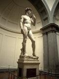Michelangelo's Sculpture of David  Florence  Italy
