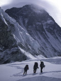 Climbing Towards Mountain Halo  Everest