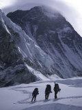 Climbing Towards Mountain Halo  Everest