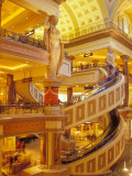 Forum Shops Area at Caesars Palace Complex  Las Vegas  Nevada  USA