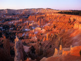 Sunset on Bryce Canyon  Utah  USA