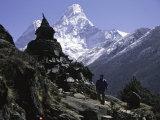 Ama Dablam Landscape  Nepal