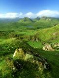 Trotternish Ridge  Isle of Skye  Scotland