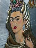 Frida Kahlo Art  Olvera Street Market  El Pueblo de Los Angeles  Los Angeles  California  USA