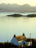 Cottage in Late Evening  Achiltibuie  Scotland