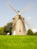 Veteran's Memorial and Wind Mill  East Hampton  New York  USA
