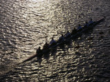 Crew Boat at Head of Charles Regatta