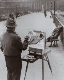 Le Peintre du Pont des Arts  c1953