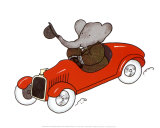 Babar en Auto