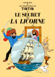 Le Secret de la Licorne, c.1943 Reproduction d'art par Hergé (Georges Rémi)
