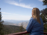 A Woman Admires the View from the Overlook