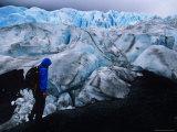 Exploring the Exit Glacier  Seward  Alaska