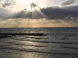 Sunset View Over Mediterranean  Tel Aviv  Israel