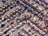 A View of a Subdivision from the Air