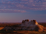 Buttes with Late Afternoon Sun  South of Chambers Pillow