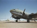 A C-46 at the Airport in Rio De Oro