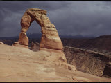 Delicate Arch  a Natural Arch Formed by Water and Wind Erosion