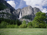 Distant View of Yosemite Falls
