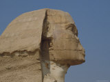 A Close View of the Head of the Great Sphinx