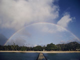 Rainbow Arching over the Island
