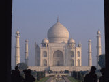 A View of the Taj Mahal from Just Inside the Gates