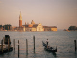 A View of the San Giorgio Maggiore Church on the Canale De San Marco