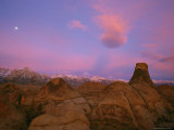 Twilight View of the Alabama Hills
